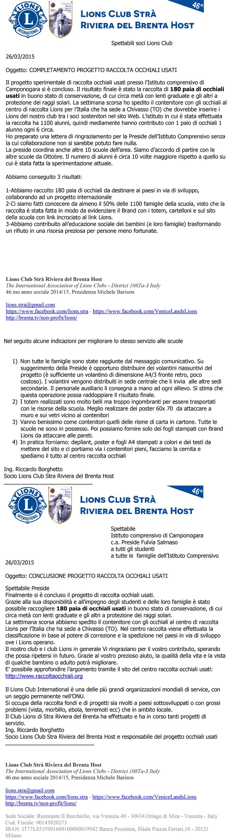 conclusione progetto sperimentale ITC Gramsci per Lions-1