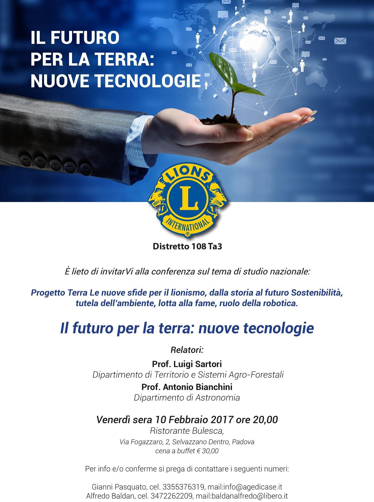 Il futuro per la terra - Nuove Tecnologie 1